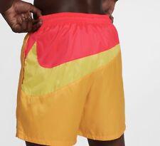 Nike Nikelab Collection NRG Heritage Shorts Yellow Men SZ Large NEW AA1570 713