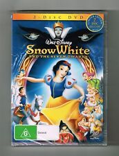 Snow White and the Seven Dwarfs (Limited Edition 2-Disc Dvd) Brand New & Sealed