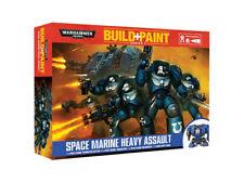 Warhammer 40k Build+Paint Space Marine Heavy Assault NEW