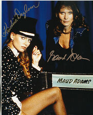 Maud Adams and Kristina Wayborn Signed Photo - James Bond - Octopussy - G31
