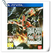 PSV Shin Gundam Musou 真高達無雙 中文版 SONY Playstation VITA Action Games Namco Bandai