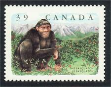 Canada 1990 Bigfoot in a Berry Patch Sasquatch Stamp #1289 MNH