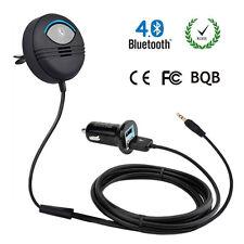 12V Handsfree Car Air Vent Wireless Bluetooth Stereo Audio Adapter MP3 PlayerAUX