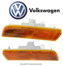 For VW Tiguan 09-16 Pair Set Of 2 Front Driver & Pass. Side Marker Light