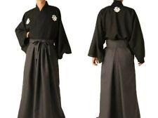 Japanese Ryoma Sakamoto Samurai costume Men's Kimono(Jacket) & Hakama(Pants) Set