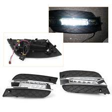 DRL LED Daytime Running Fog Lights For Mercedes Benz 10 11 ML280 300 320 350 500