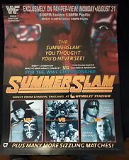 WWE WWF SummerSlam 1992 Poster 16x20 Macho Man