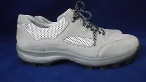 WALDLAUFER UK 8 WIDE FIT OUTDOORS / HIKING COMFORT LEATHER SHOES / TRAINERS