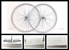 "Vtg. Weinmann Rims 26"" Wheels 6 Speed Alloy 36h Retro MTB VTG 80's Bicycle Bike"