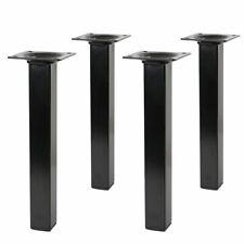 Tischbeine Möbelfüße ECKIG 42x10 L 100 mm Aluminium