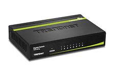 TRENDnet TEG-S80g 8-Port Gigabit GREENnet Desktop Metal Case Ethernet Switch