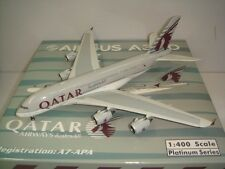 "Phoenix 400 Qatar Airways QR A380-800 ""2000s color"" 1:400"