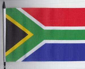 South Africa Medium Hand Waving Flag