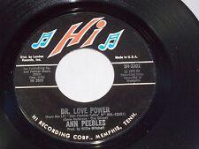 Ann Peebles: Dr. Love Power / I Still Love You  [New Unplayed Copy mfg slv]