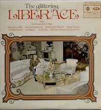 LIBERACE ~ GLITTERING LIBERACE (SILVER ANNIVERSARY) ~ 1969 UK 9-TRACK STEREO LP