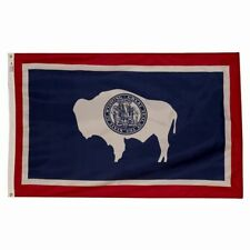 3x5 ft WYOMING The Cowboy State OFFICIAL STATE FLAG Outdoor Nylon MADE IN USA