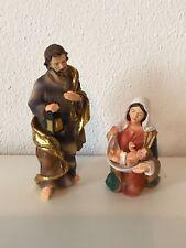 Krippenfiguren Set Heilige Familie 14 cm