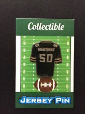 Green Bay Packers Blake Martinez lapel pin-New Cheesehead Collectible-Go Pack!