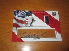 Jared Hart 2015 Panini Usa Baseball Acetate Patch Autograph #6/20 Auto 6=Jersey
