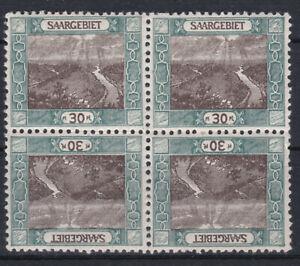Saargebiet 1921 Kehrdrucke ab Michel Nr. 55 Postfrisch ** Aussuchen