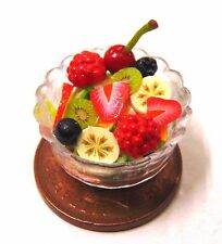 1:12 Scale Handmade Mixed Fruit Salad In A 2cm Plastic Dish Tumdee Dolls House