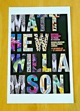 DESIGN MUSEUM POSTCARD '10 YEARS IN FASHION' BY MATTHEW WILLIAMSON ~ 2007 ~ NEW