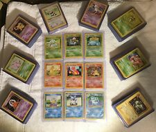 Pokemon 151 Set Complete - 100 % Original Classic Cards - Base - Fossil - Jungle
