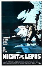 night of lepus vintage horror sci-fi movie poster wholesale art poster