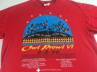 Kennesaw State Owls Prowl T-Shirt VTG 1998 Adult SZ M/L Alumni Georgia KSU 90s