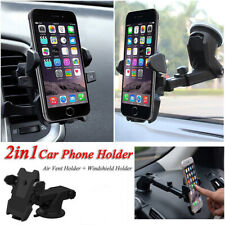 Universal 360° Windshield Mount Car Holder Cradle For GPS Mobile Smart Phone