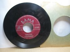 Old 45 RPM Record - Dana D-45-3096 - Frank Wojnarowski - Bassie Polka / White Ho