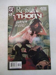 ROSE & THORN #3 APRIL 2004 NM NEAR MINT 9.6 DC COMICS ADAM HUGHES COVER RARE