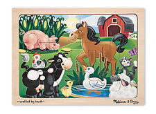 Melissa & Doug Less than 15 Pieces Jigsaw Puzzles