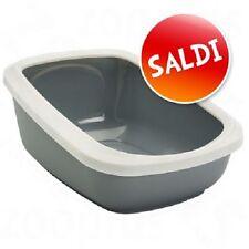 Cassetta igienica gatto Lettiera toilette vasca MAO XXL con bordo alto L 67,5
