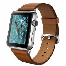 Apple Leather Band Smart Watches
