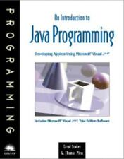 An Introduction To Java Programming By Carol Stoker, G Thomas Phew