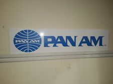 Pan American Airlines, Pan Am Display, Aluminum advertising Sign, 24