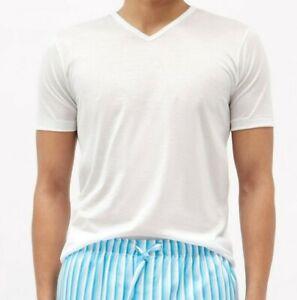 Zimmerli Royal Classic 100% Cotton Short Sleeved V Neck T-Shirt Tee RRP £70 8122