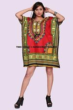 Hippie Boho Dashiki Tribal Kaftan Women Casual Cocktail Club Parties Caftan Tops