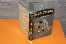 (134) Native son / Richard Wright / Modern library book