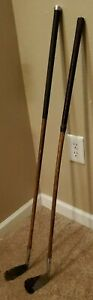 Burke Wood Shaft Golf Clubs Antiques