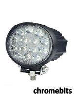 2 X 12v 24v 42W 14 Rond Spot Lampe De Travail LED Faisceau 4WD Jeep SUV Atv