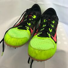 Nike running shoe mens sz 12 spikes lightweight indoor track and field