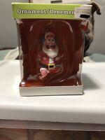 Nickelodeon Spongebob Squarepants Ornament Patrick As Santa With Bag!