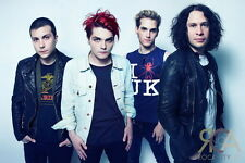 """047 My Chemical Romance - American Rock Band Music Star 21""""x14"""" Poster"""
