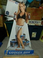 2005 Coors Light Cooler Box Promo Easel Back Beer Sign [16''x25'& #039;] In-Store Ltd