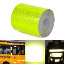 Sicherheit reflektierende Warnband Aufkleber Klebeband Tape für Auto LKW 3M #