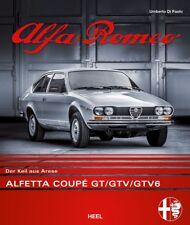 Alfa Romeo Alfetta Coupé GT GTV GTV6 (Entwicklung Design Technik) Buch book DEU