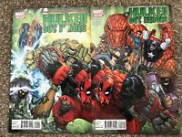 Hulked Out Heroes 1 2 Marvel 2010 Hulkpool Deadpool CONNECTING COVERS
