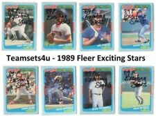 1989 Season Set Baseball Trading Cards